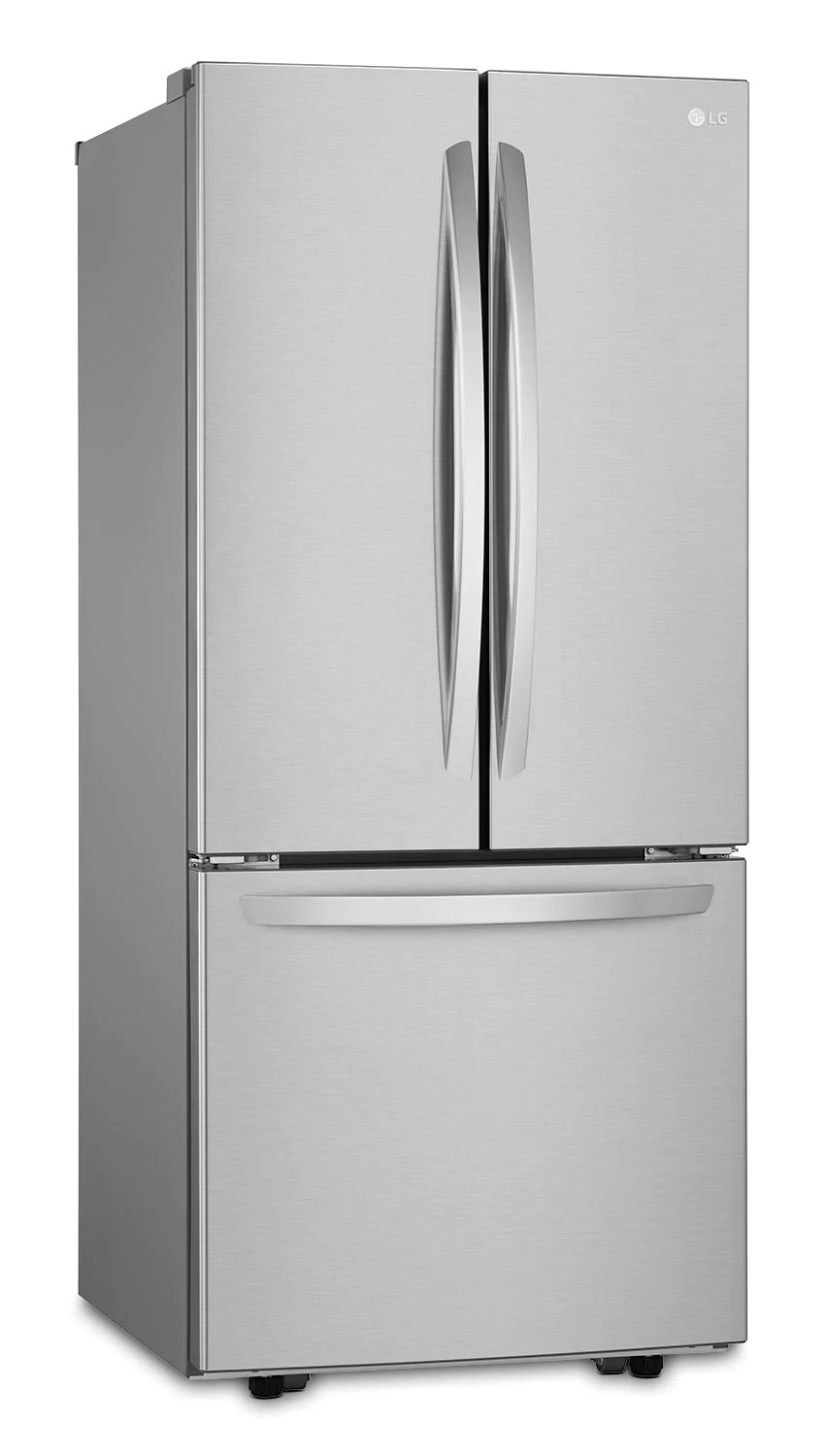 Refrigerateur Lg Lg 21 8 Cu Ft French Door Bottom Mount Refrigerator Stainless Steel