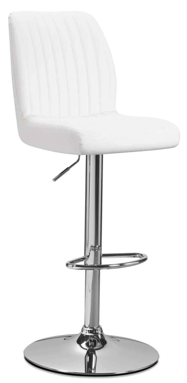 Tabouret Reglable Tabouret Réglable Monarch Blanc