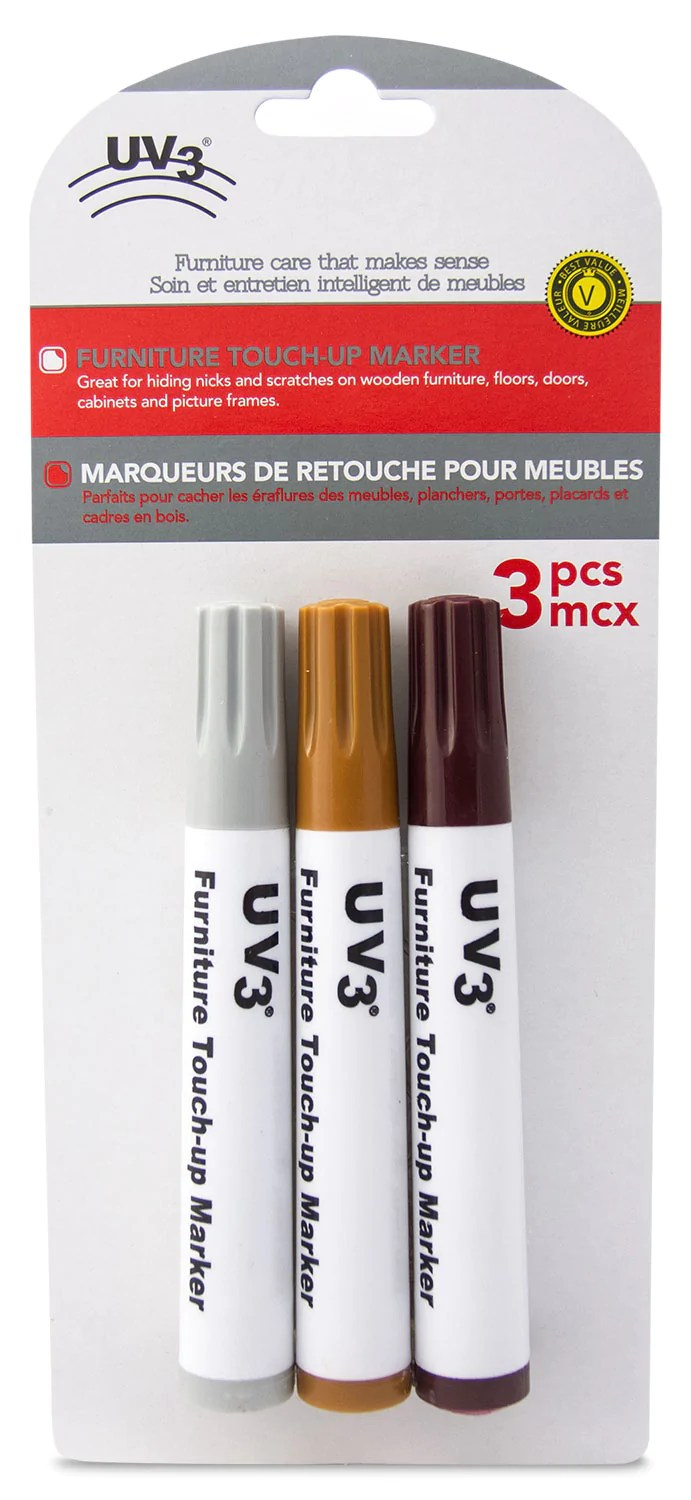 Meubles Brick Québec Uv3 3 Pack Wood Touch Up Markers