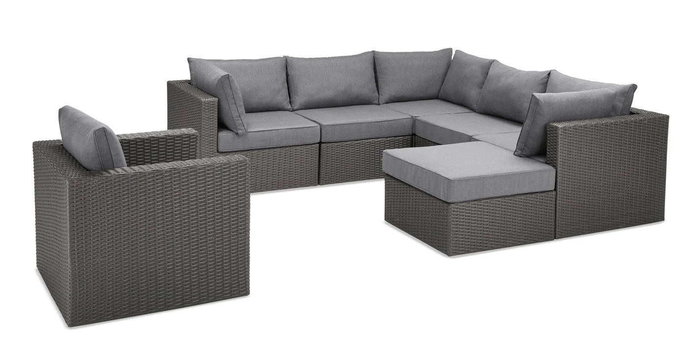 Morris 7 Piece Patio Set The Brick - Garden Furniture Clearance Warehouse