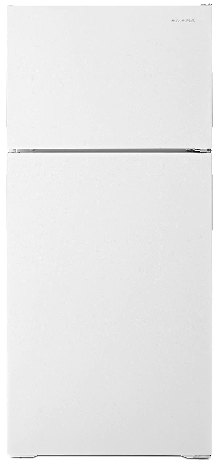 14 Cu Ft Refrigerator Amana 14 Cu Ft Top Freezer Refrigerator Art104tfdw