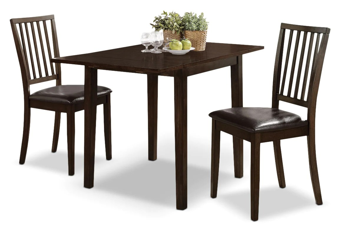Ensemble Table A Manger Dakota 3 Piece Square Table Dining Package