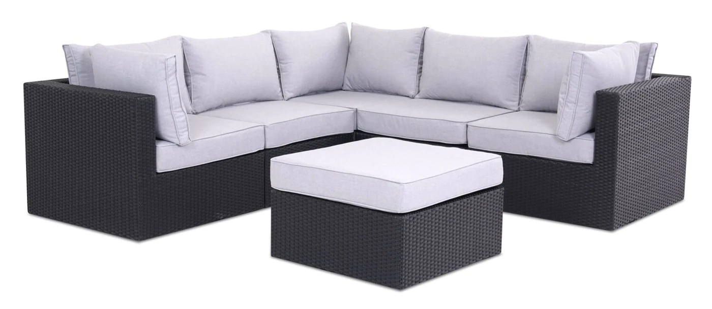 Minnesota 6 Piece Patio Set Grey The Brick