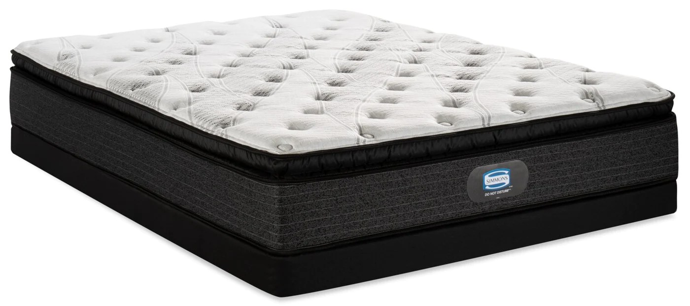 Simmons Do Not Disturb Leeds Pillowtop Low Profile Full Mattress - Garden Furniture Clearance Leeds