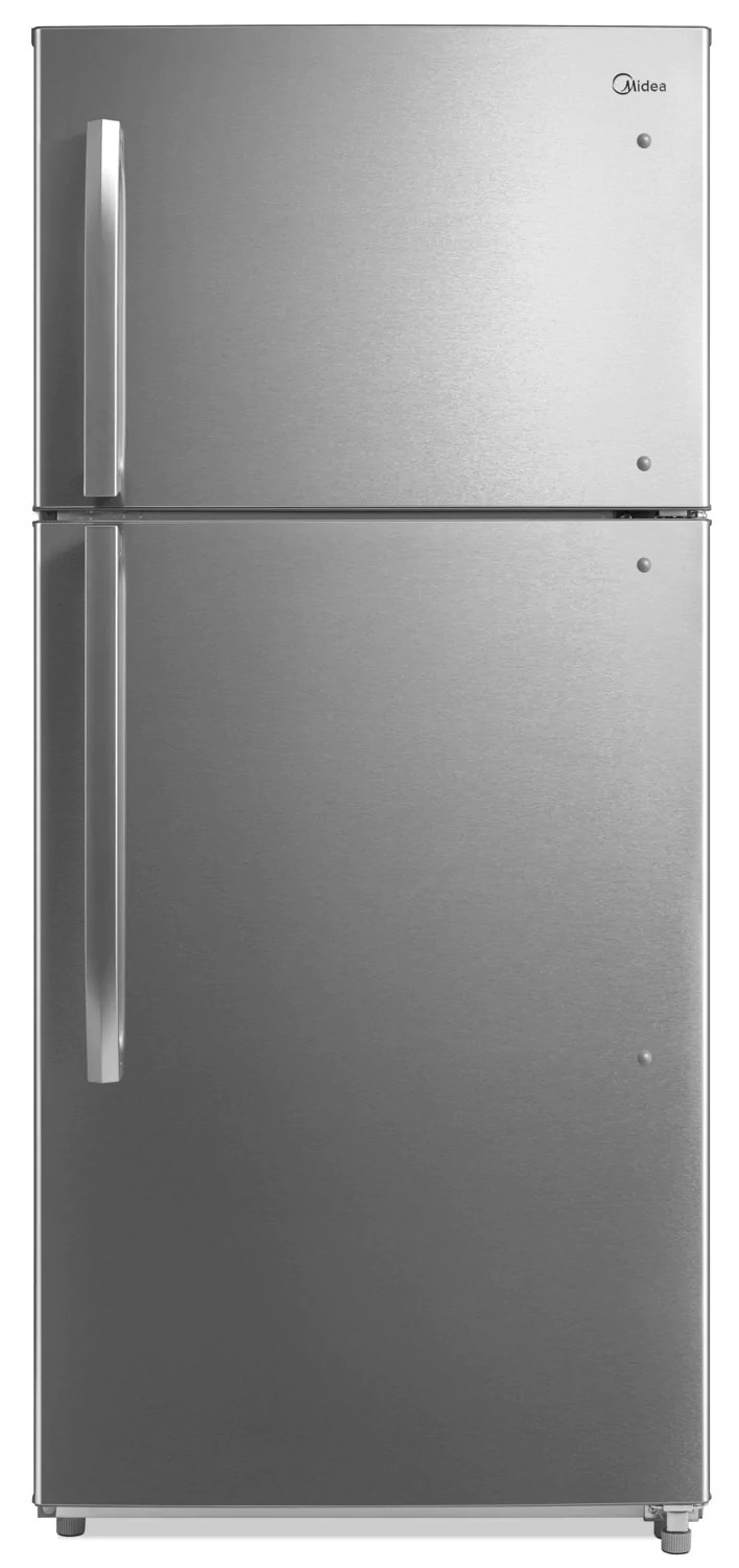Fridges Canada Midea 18 Cu Ft Top Mount Refrigerator Hd 663fwess
