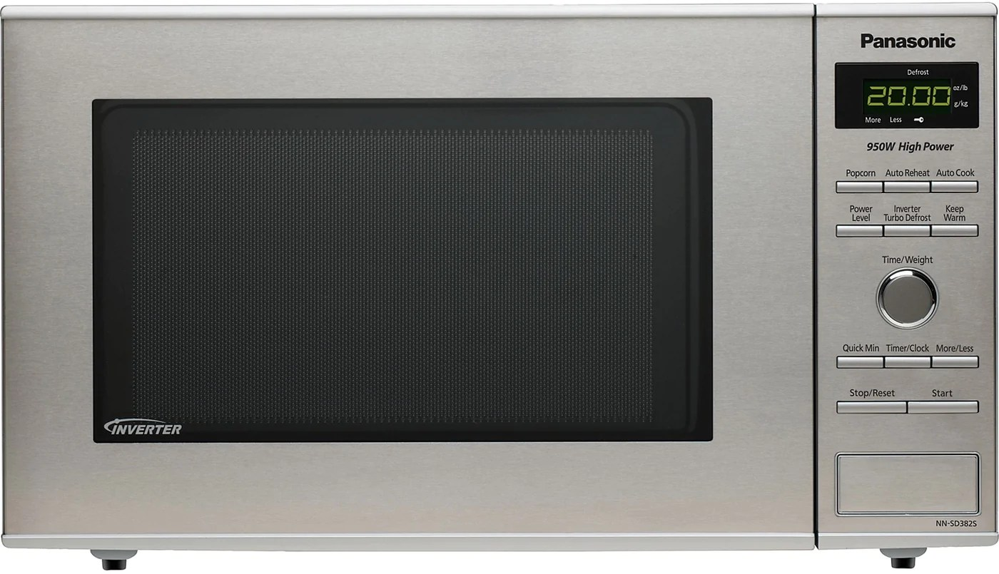 Panasonic 8 Cu Ft Countertop Microwave Oven Stainless Steel The Brick