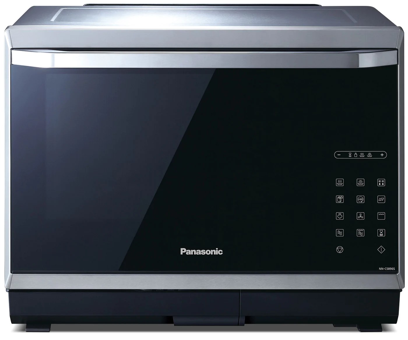 Panasonic 1 2 Cu Ft Steam Convection Countertop Microwave Nncs896s The Brick