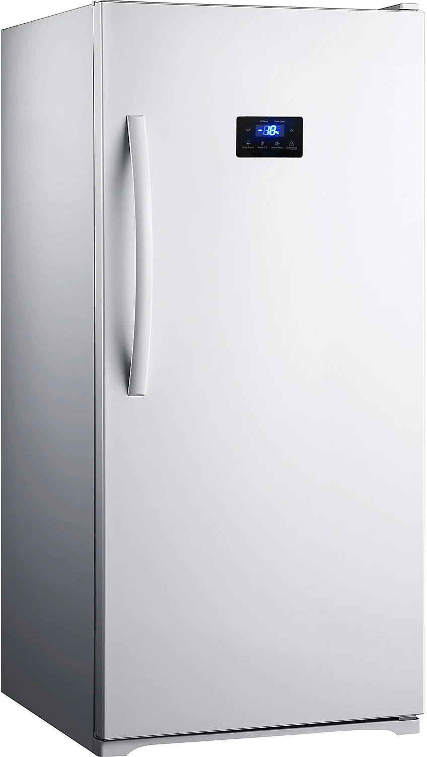 No Frost Midea 13 8 Cu Ft No Frost Upright Freezer White