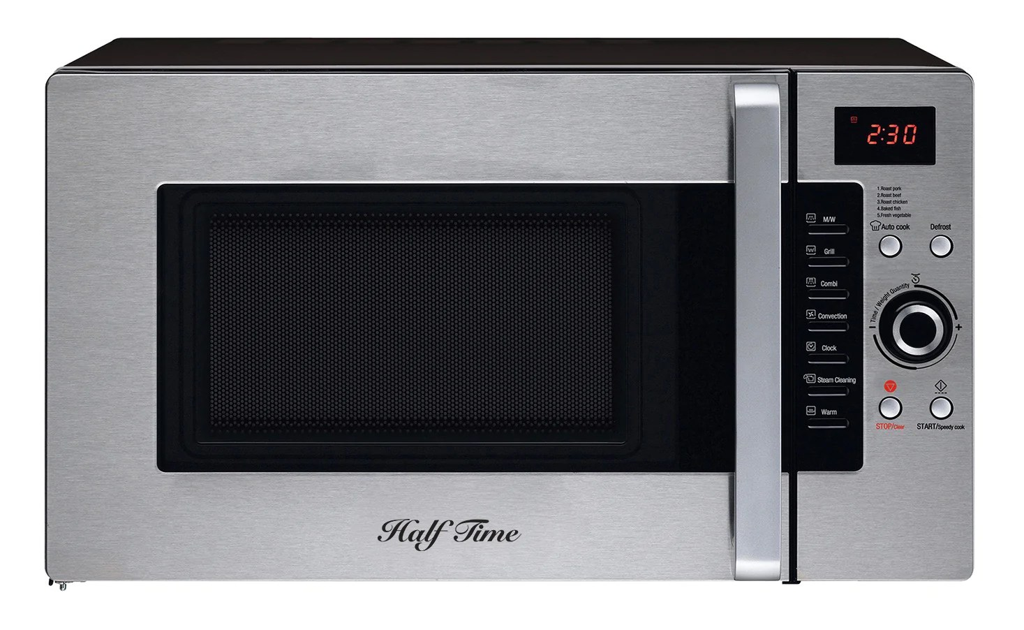 Bis 1.2 Fireplace Manual Half Time Convection Microwave Oven 1 2 Cu Ft Countertop Stainless Steel Black Mc 300 Cts B