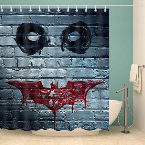 Medium Of Batman Shower Curtain