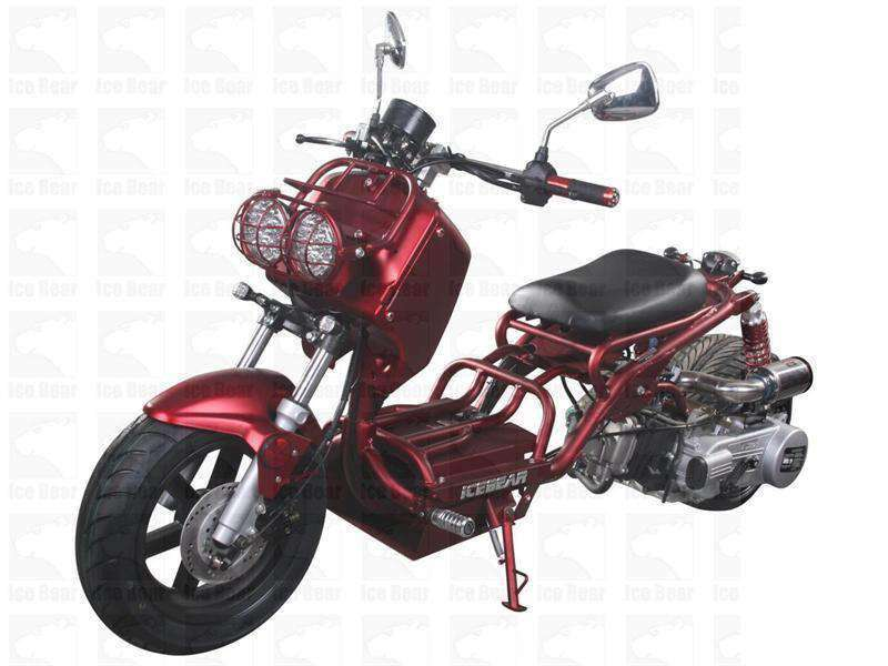 Chinese Wholesale Dirt Bikes Custom Gas Powered 50cc Maddog Mopeds With Free Shipping