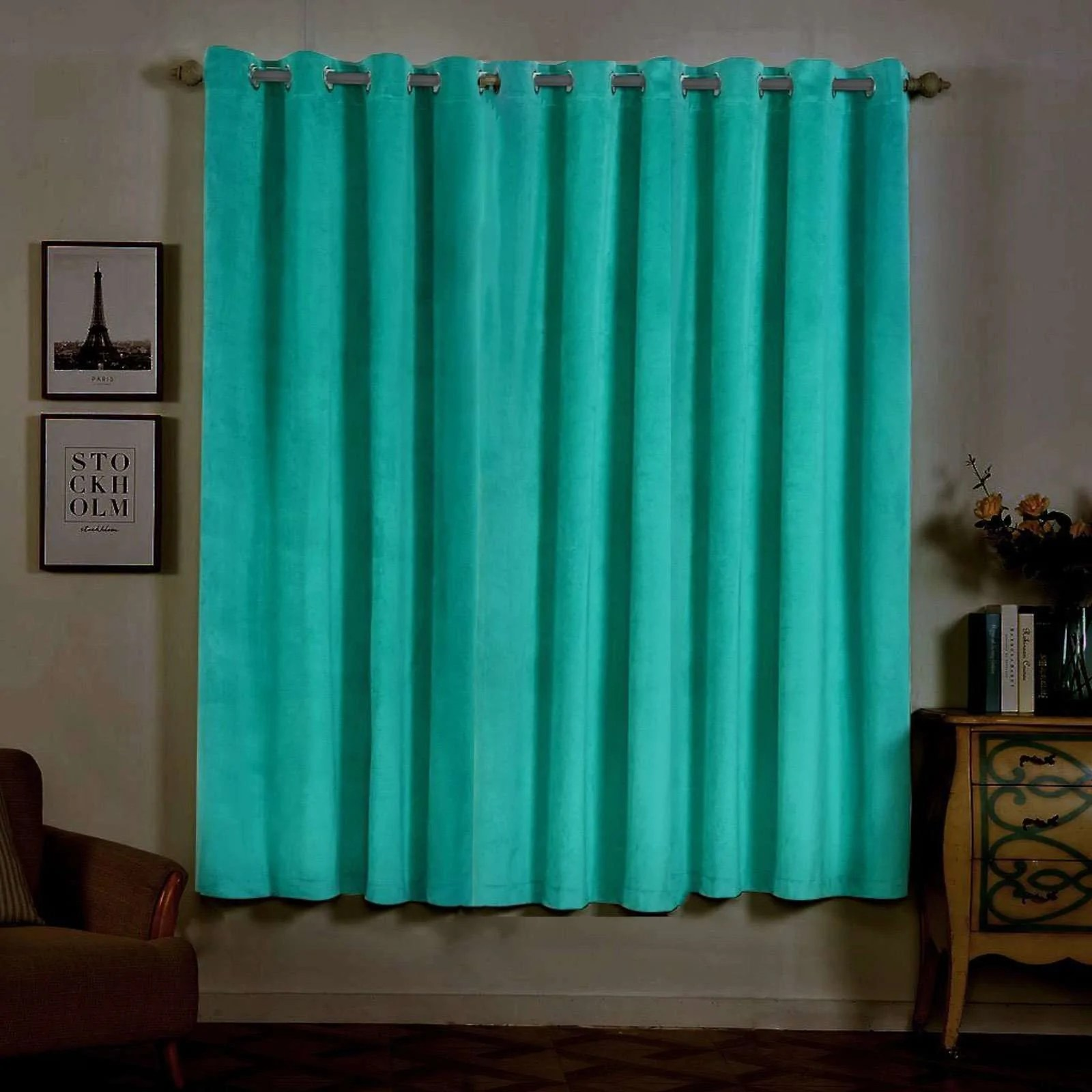 Heavy Thermal Curtains 2 Pack 52