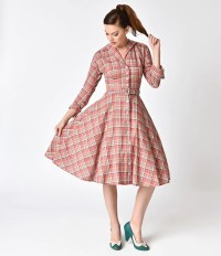 Shop 1940s Style Shirt Dress - Shirtwaist Dresses