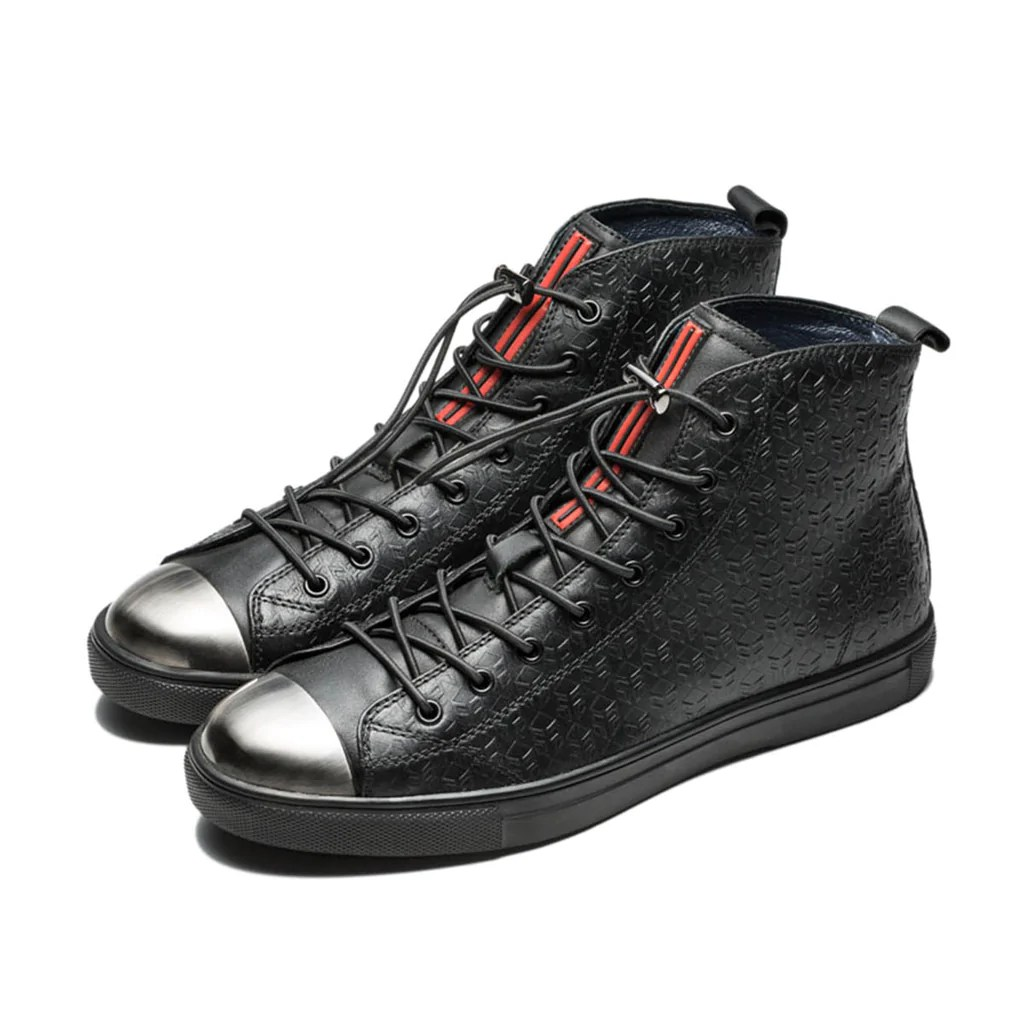 Store Metal Metal High Top Shoes Black Opp Official Store