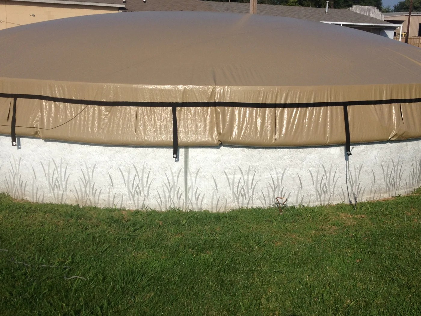Above Ground Pool Winter Cover Easydome Round Above Ground Solid Winter Covers