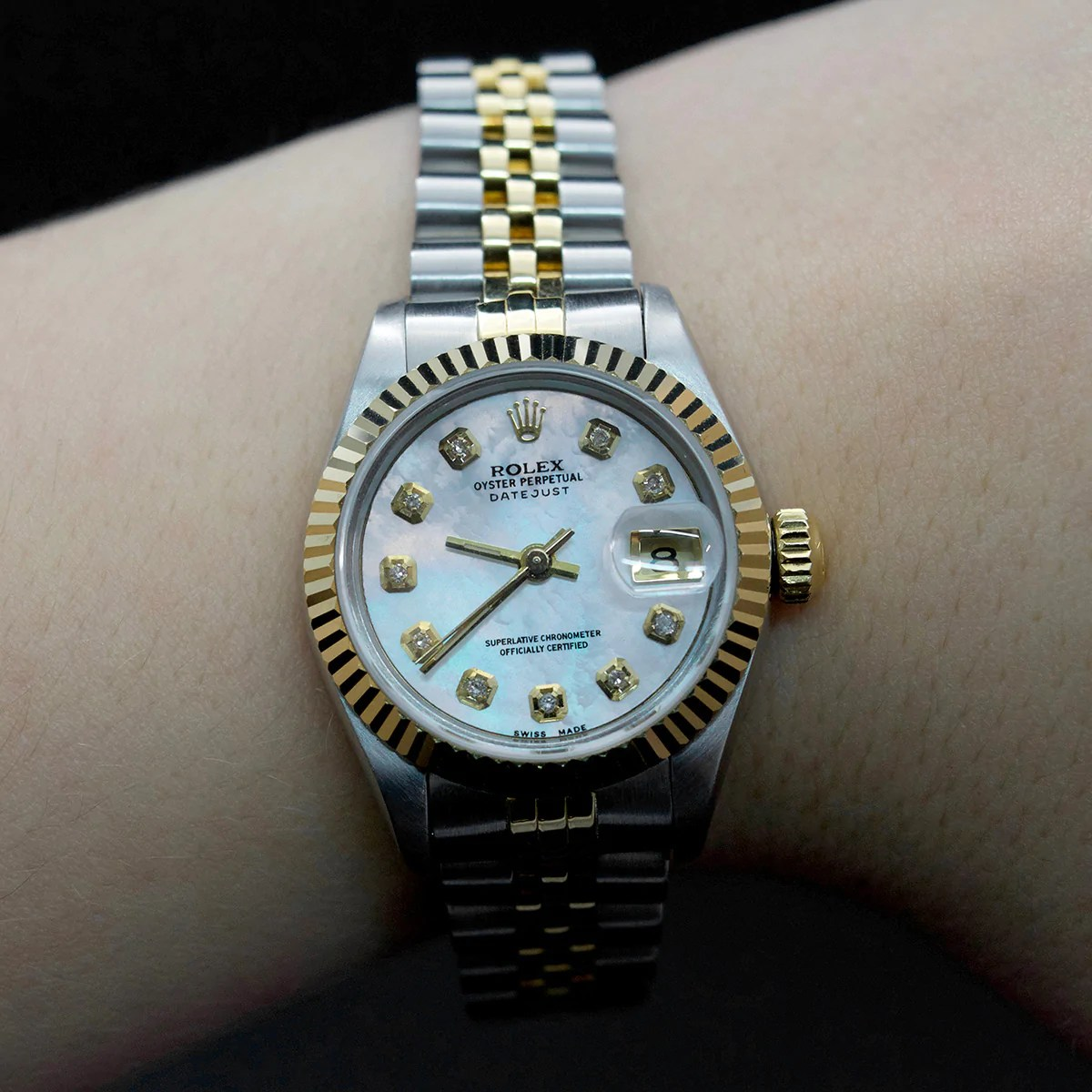 Rolex Second Hand Ladies Vintage Rolex 1989