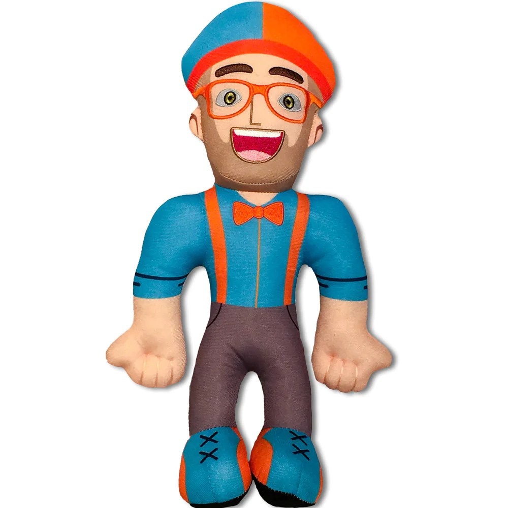 Doll Toys In Amazon Blippi Plush Doll 13 Inch