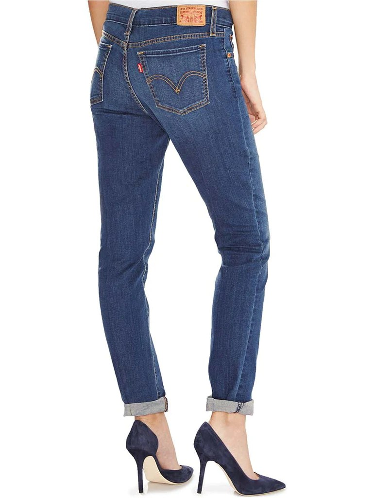 Jeans Levis Levi S Womens 414 Relaxed Straight Fit Coastal Ridge Jeans 198890005 D