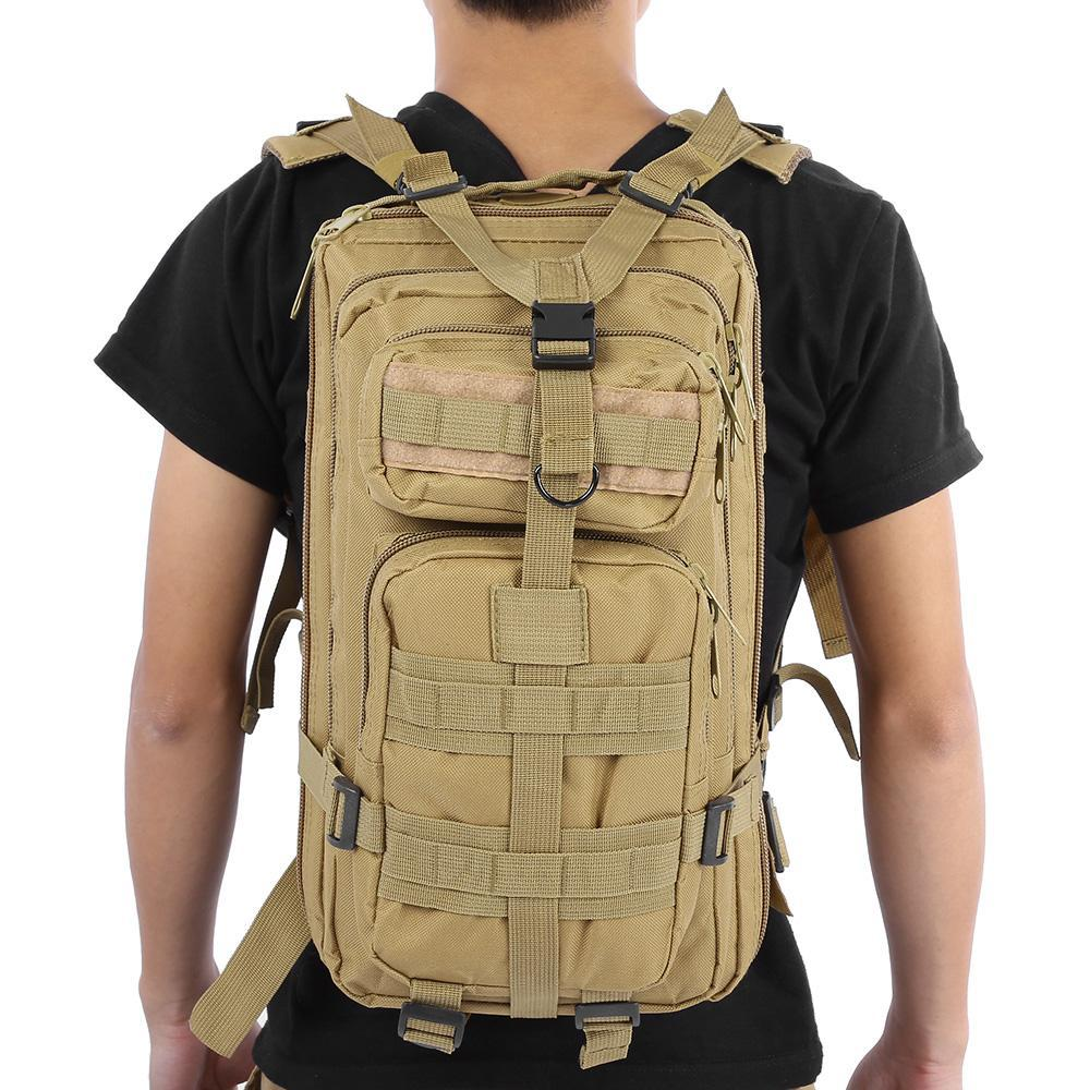 Travel Rucksack 9 Color Unisex Outdoor Military Army Tactical Backpack Trekking Travel Rucksack Camping Hiking