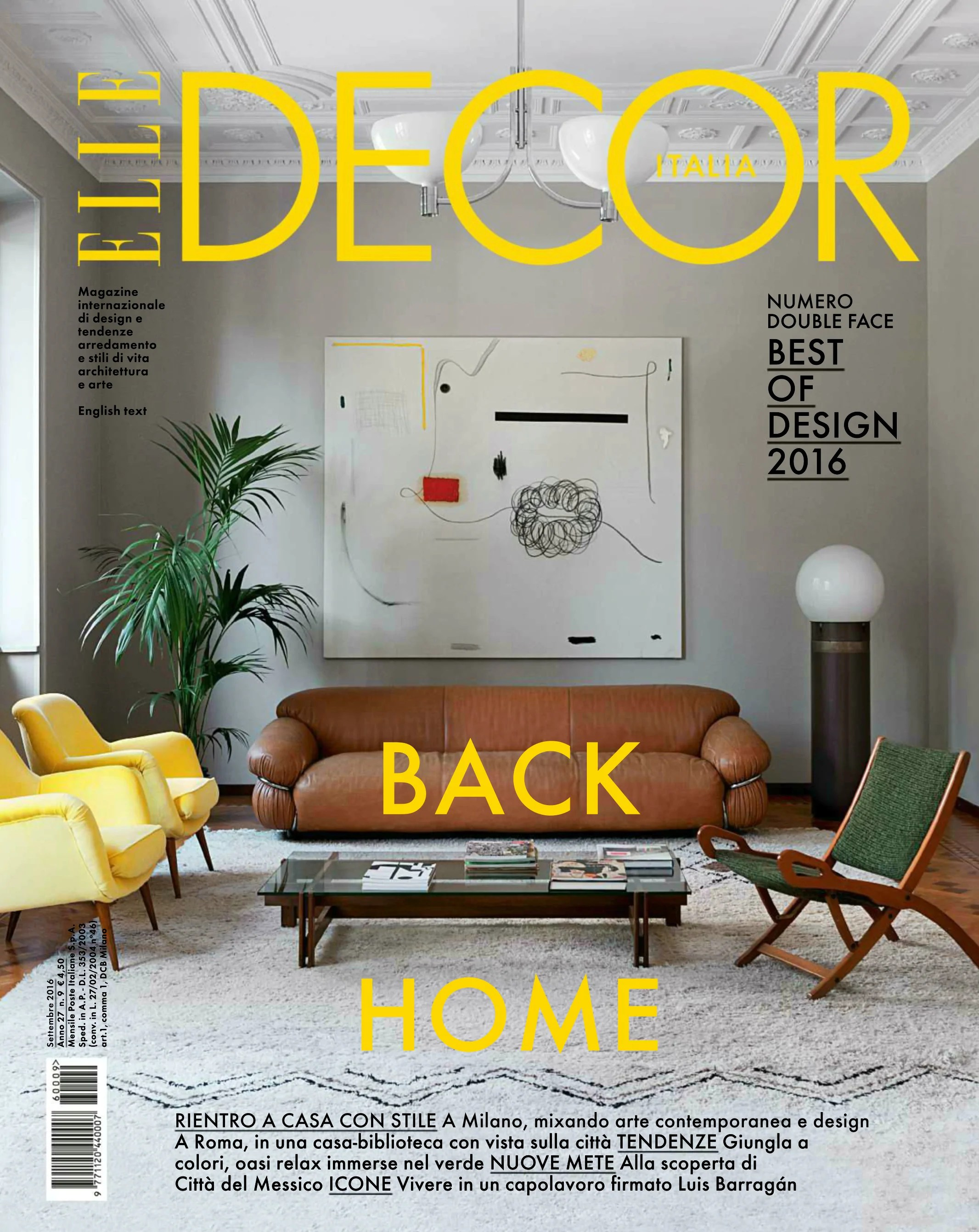 Elle Decor Italia Elle Decor Italia September 2016 Modern Furniture Hayche