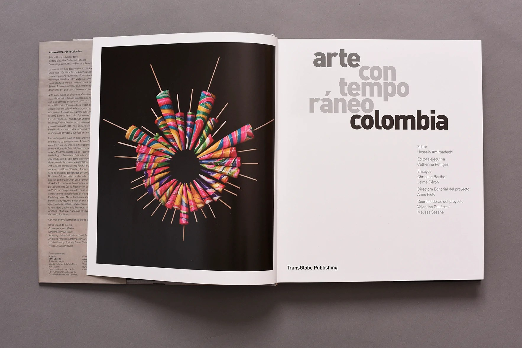 La Arte In Spanish Arte Contemporáneo Colombia Spanish Edition Transglobe Publishing