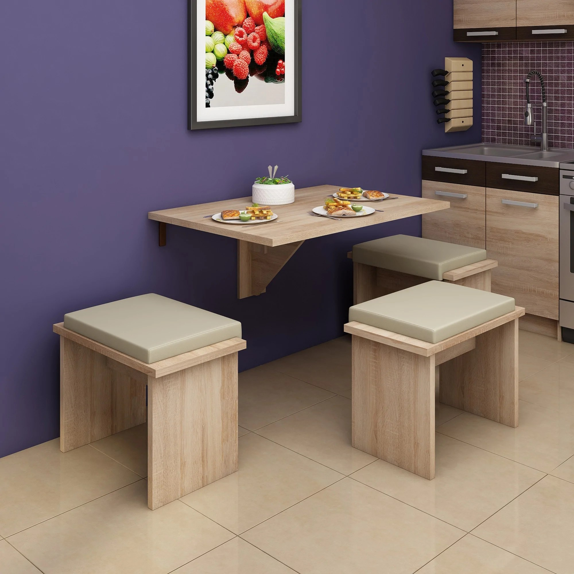 Wall Mounted Dinner Table Expert D Wall Mounted Drop Leaf Dining Table Furniture Agency