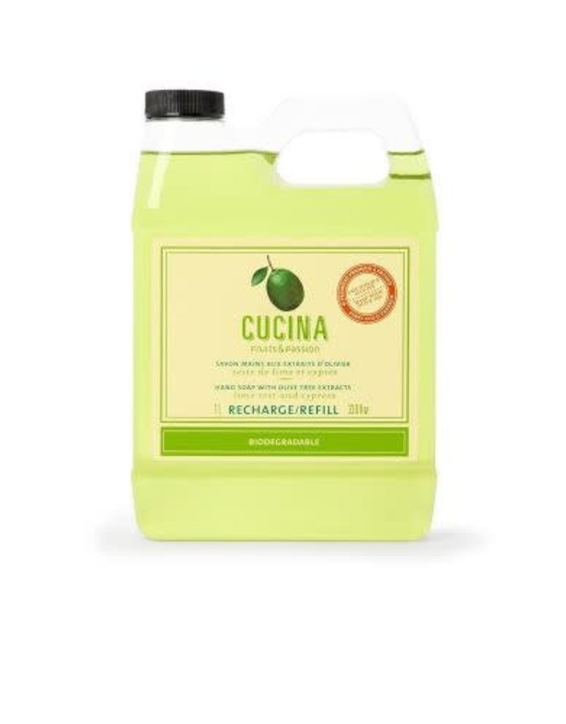 Cucina Bar Soap Lime Zest Hand Soap