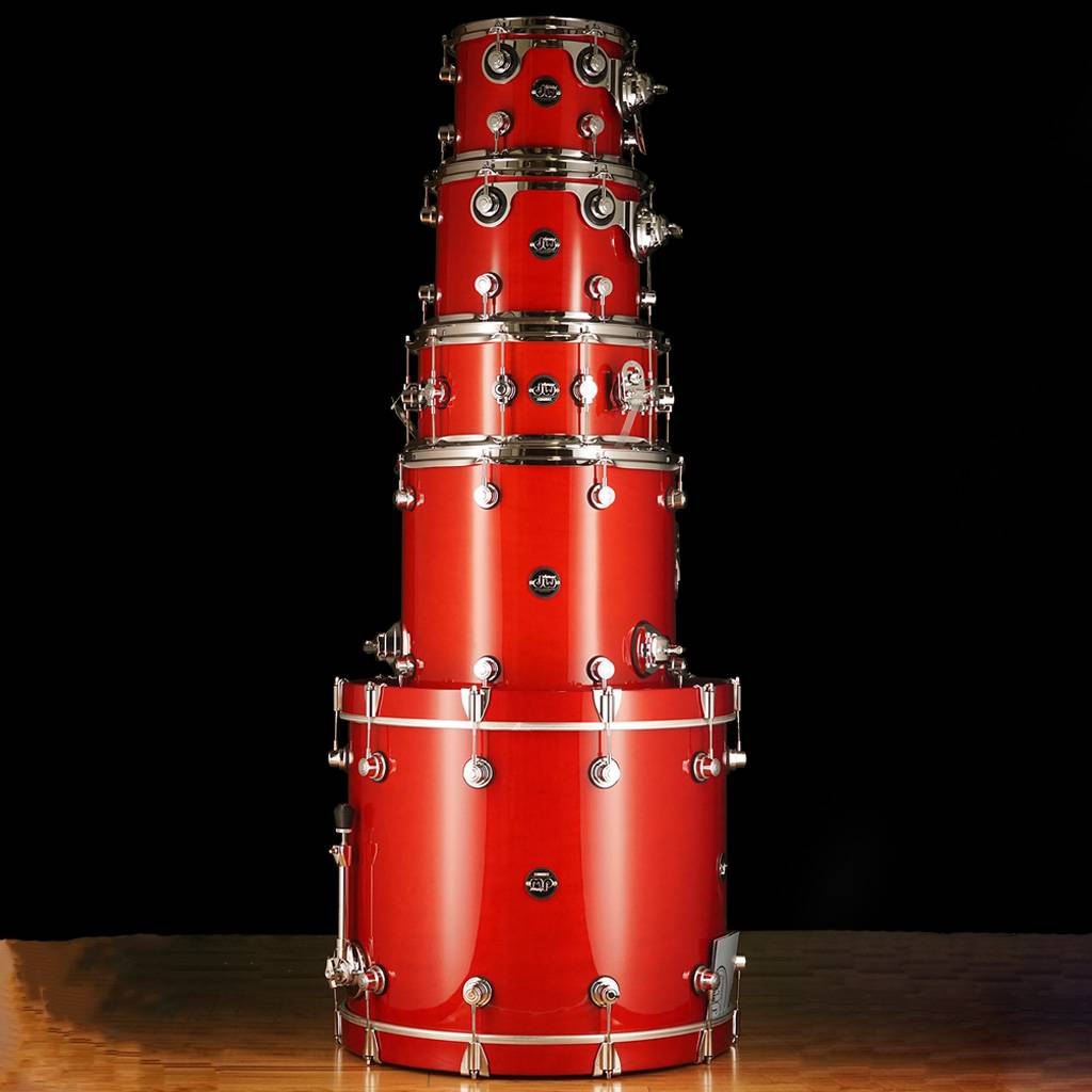 Dw Shop Dw Drum Workshop Performance Series 4 Pc Shell Pack Candy Apple Laquer 8 X 10 9 X 12 14 X 16 18 X 22