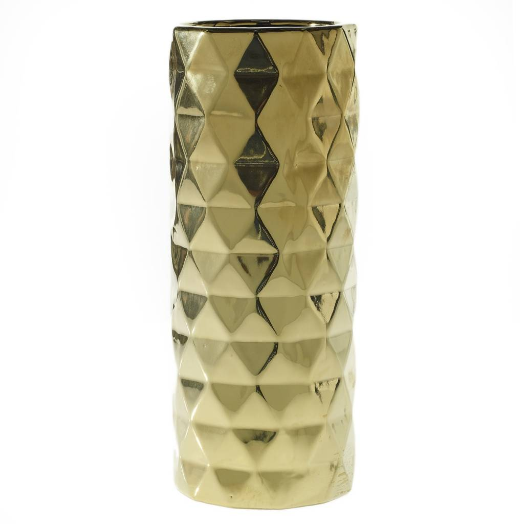 Vase Gold Medium Architect Vase