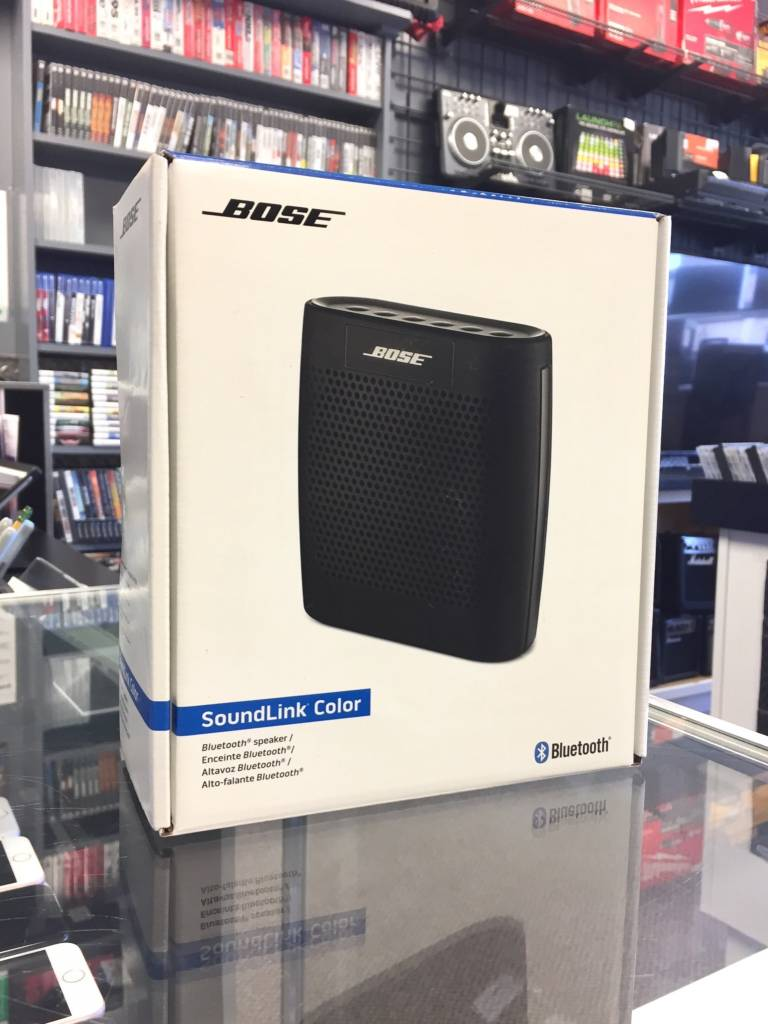 Box Bluetooth New In Box Bose Soundlink Color Bluetooth Speaker Black