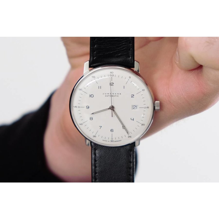 Max Bill Automatic Junghans Max Bill Automatic Watch With Date