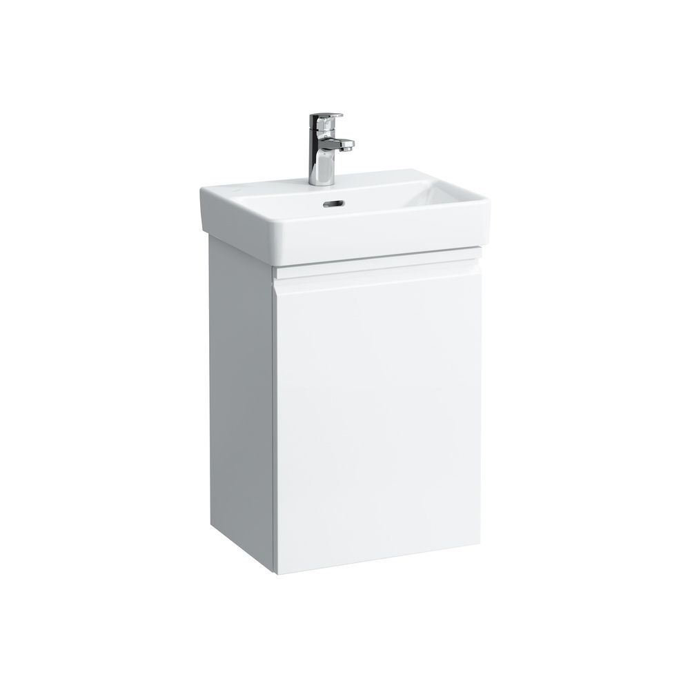 Black Pro S Laufen 483301 Pro S Vanity Unit With Door Left White