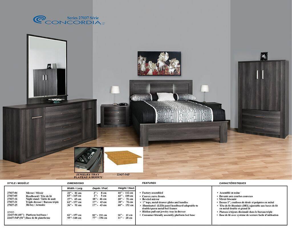 Meuble lit queen quadrato meubles re no