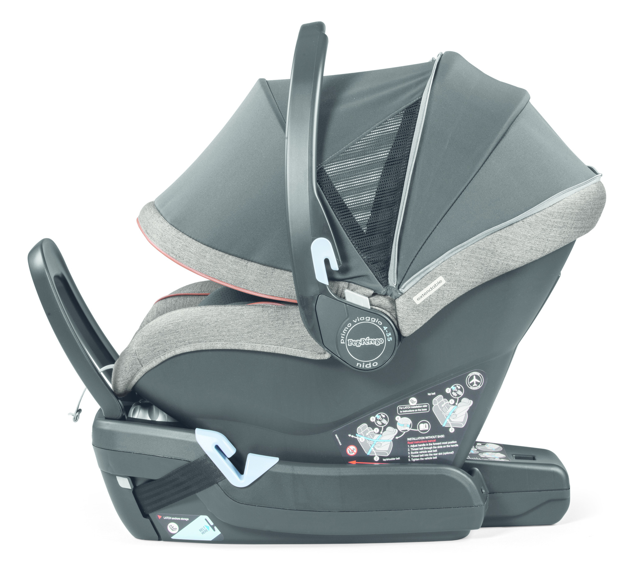 4baby Noma Playpen Peg Perego 3 In 1 Car Seat