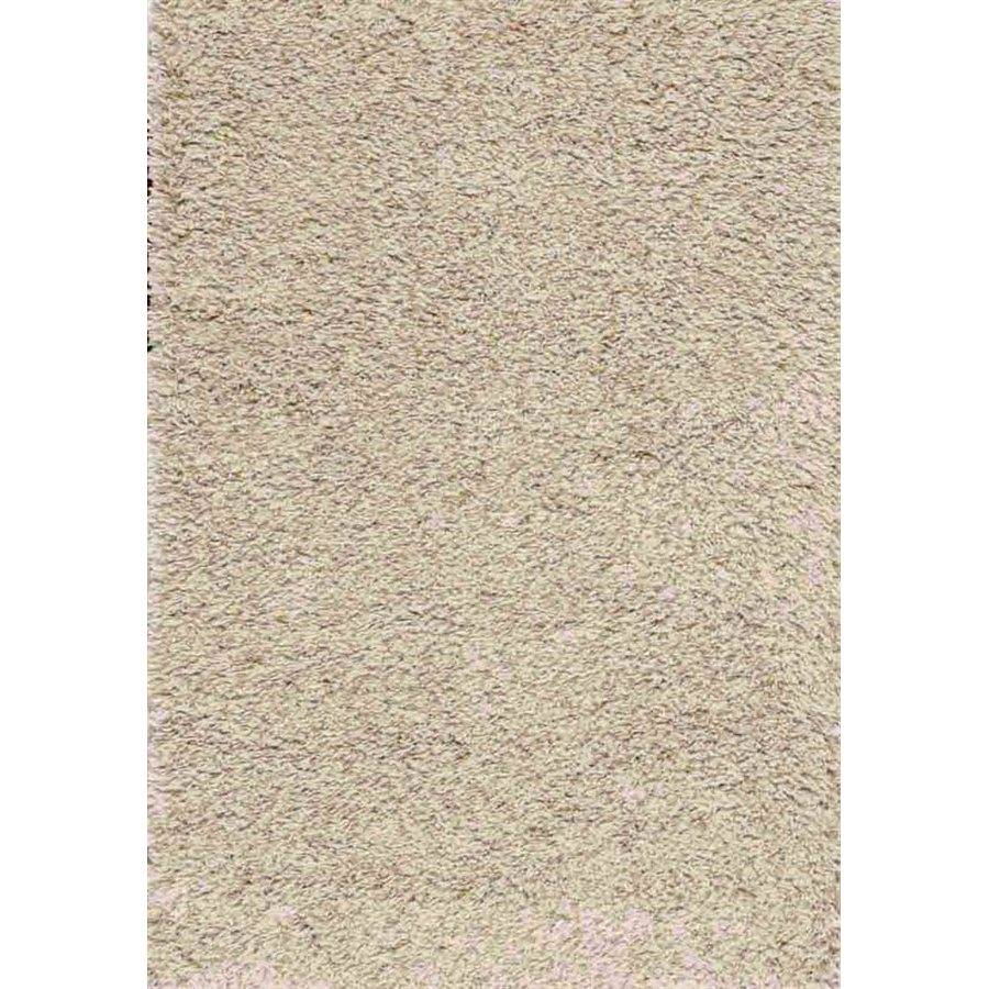 Tapis Poil Long Beige Tapis Taupe Beige Poil Long Solid 4pi X 6pi