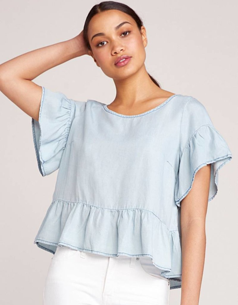Top Bb Bb Dakota Ruffle And Ready Top