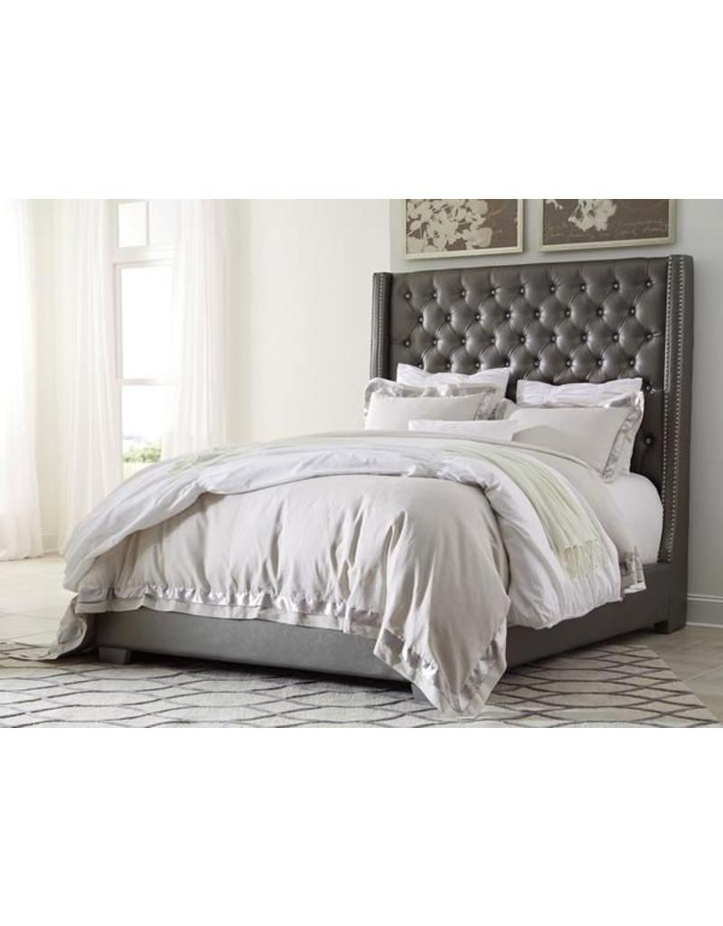 Coralayne Upholstered Bed Queen Bed Livin Style Furniture