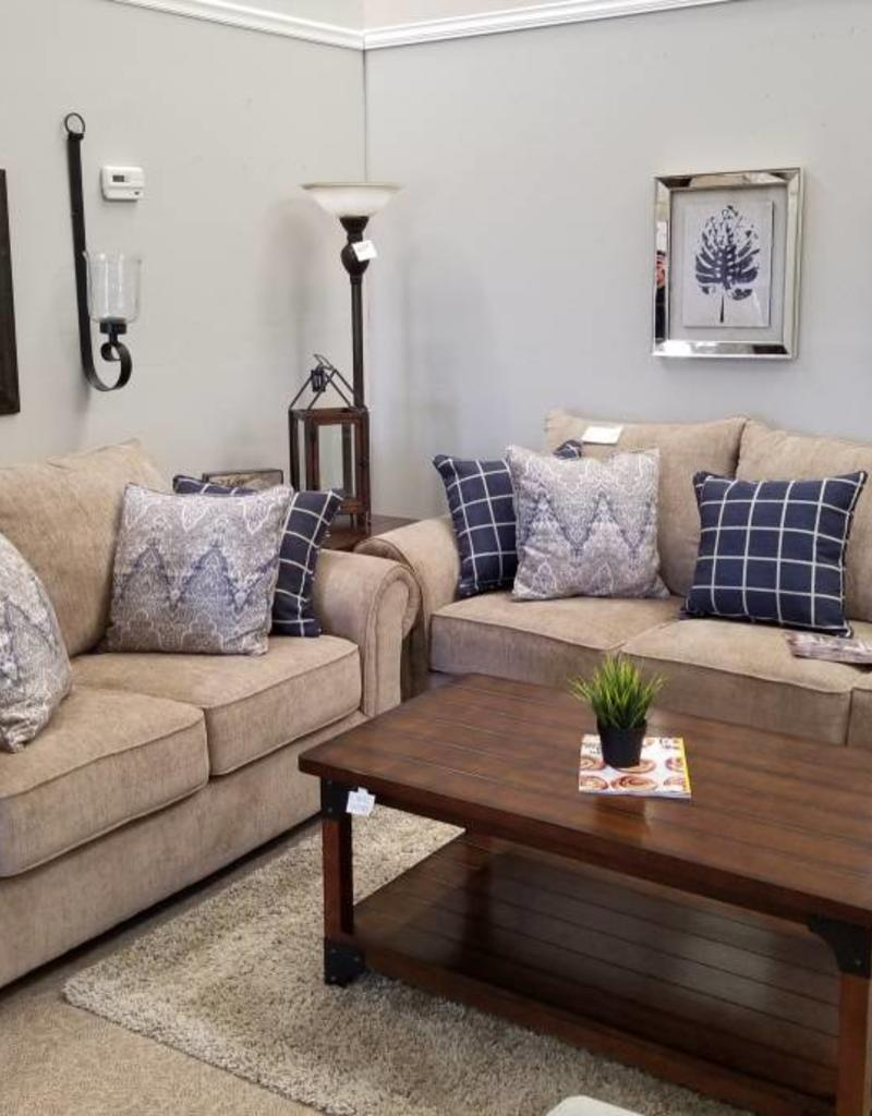Brown Sofa And Loveseat Sets United Gavin Mushroom Sofa And Loveseat Set