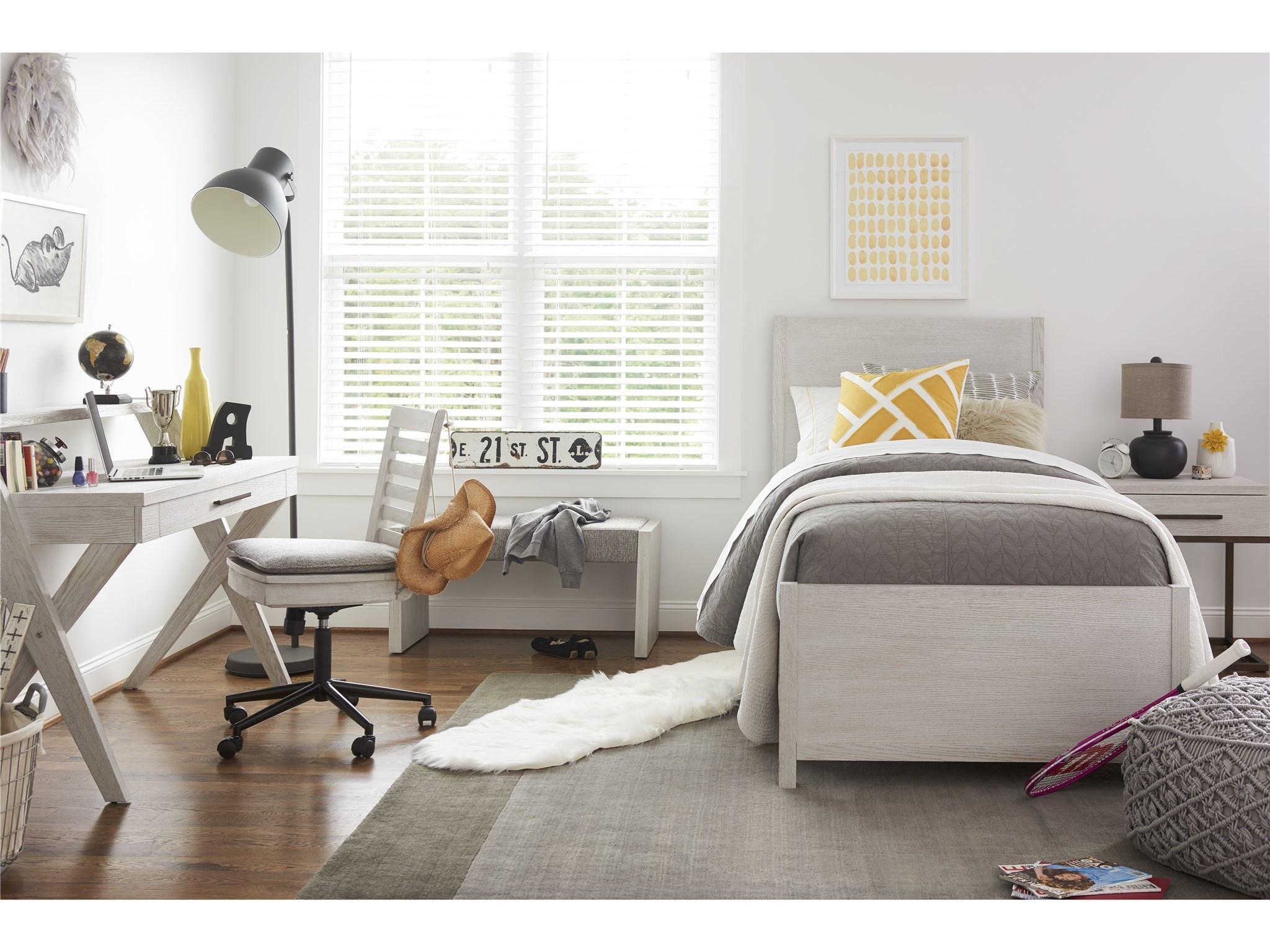 Bed Shops Reading Universal Smart Stuff Modern Spirit Twin Reading Bed