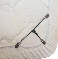 Bed Sheet Holder Straps/Bed Sheet Grippers - 3 Way Bed ...