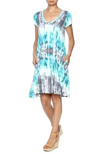 143 Story Blue Tie Dye Dress from Tennessee by Southern ...