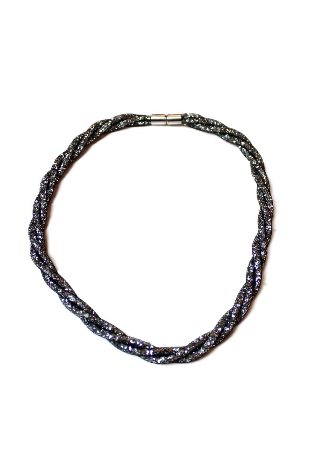 Carte Blanche Anklets Carte Blanche Black Sparkly Choker From Vancouver Shoptiques