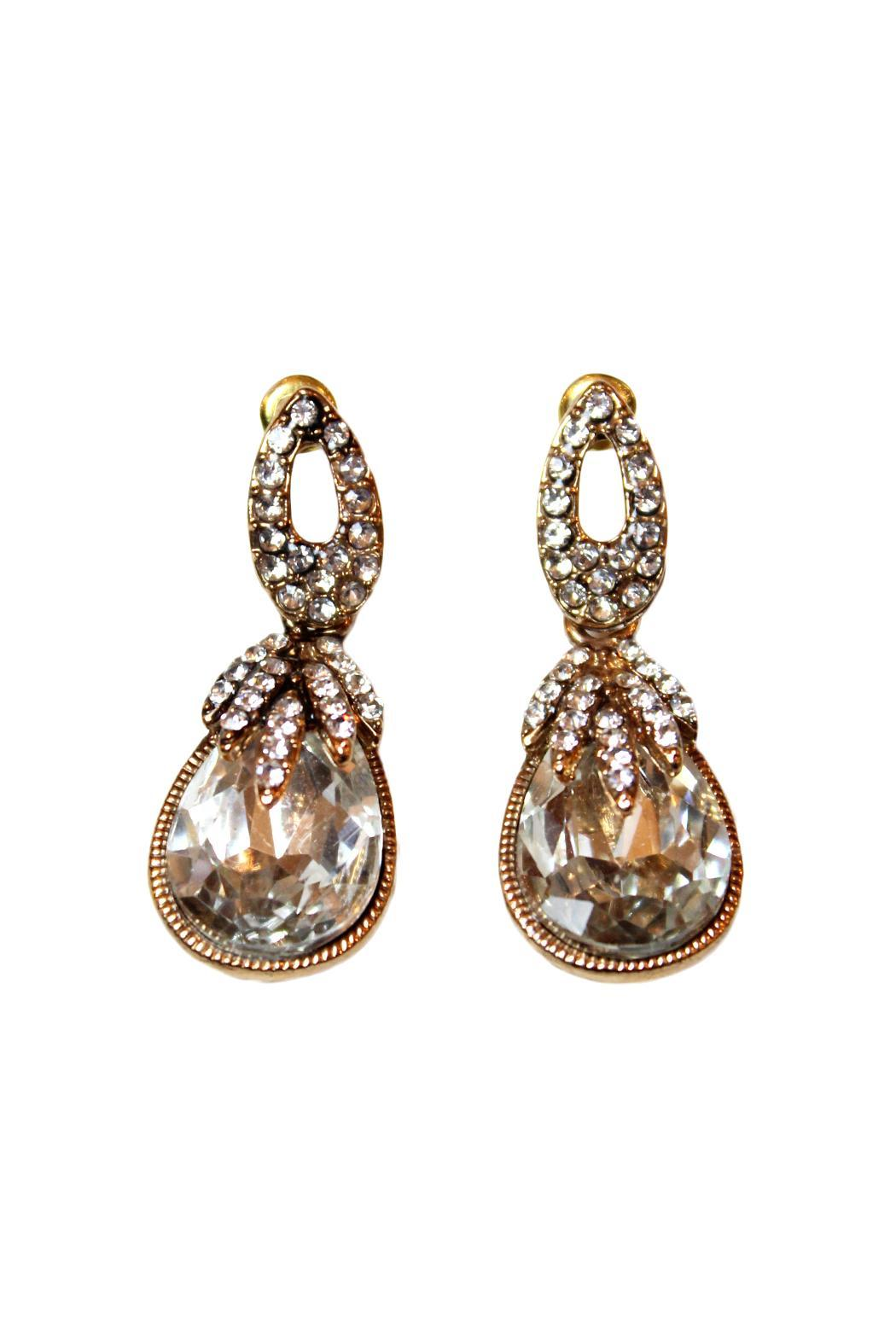 Carte Blanche French Carte Blanche French Vintage Style Earrings From Vancouver