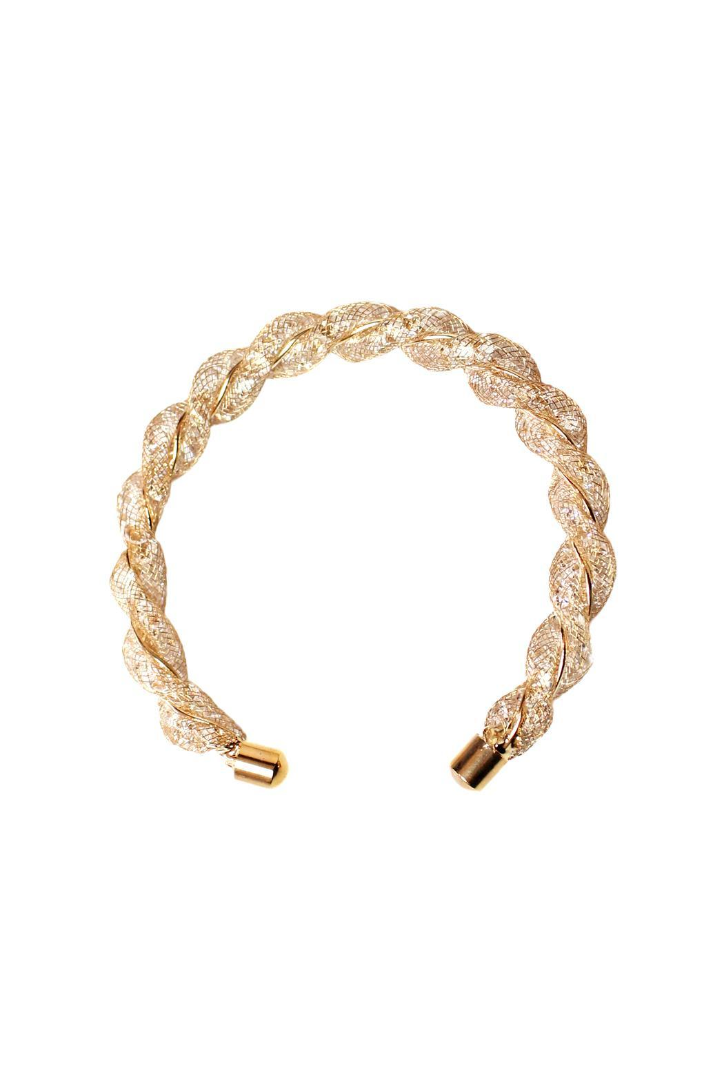 Carte Blanche Anklets Carte Blanche Rose Gold Cuff Bracelet From Vancouver Shoptiques