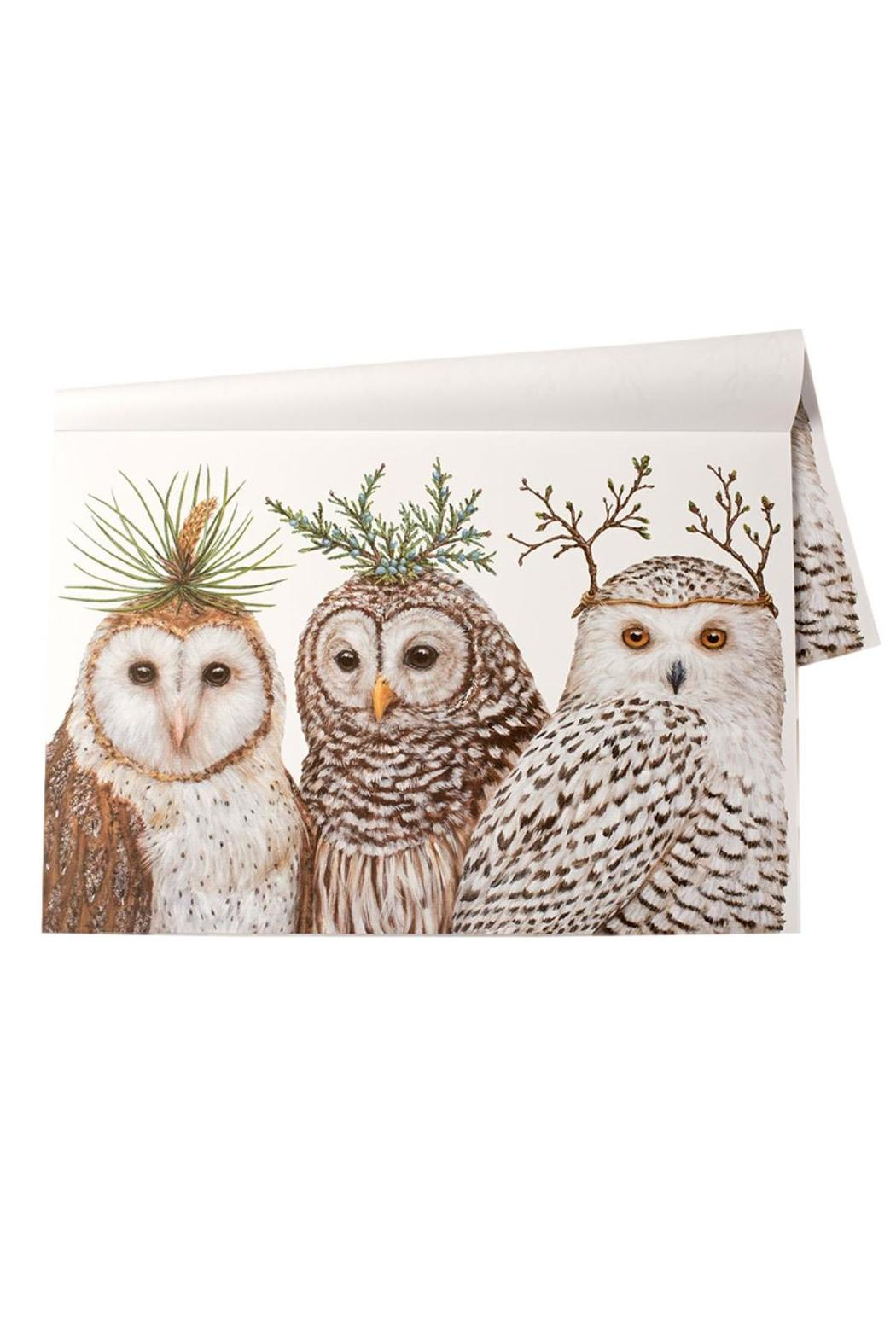 Owl Home Decor Accessories Castles Home Decor Winter Owl Placemats From Denver