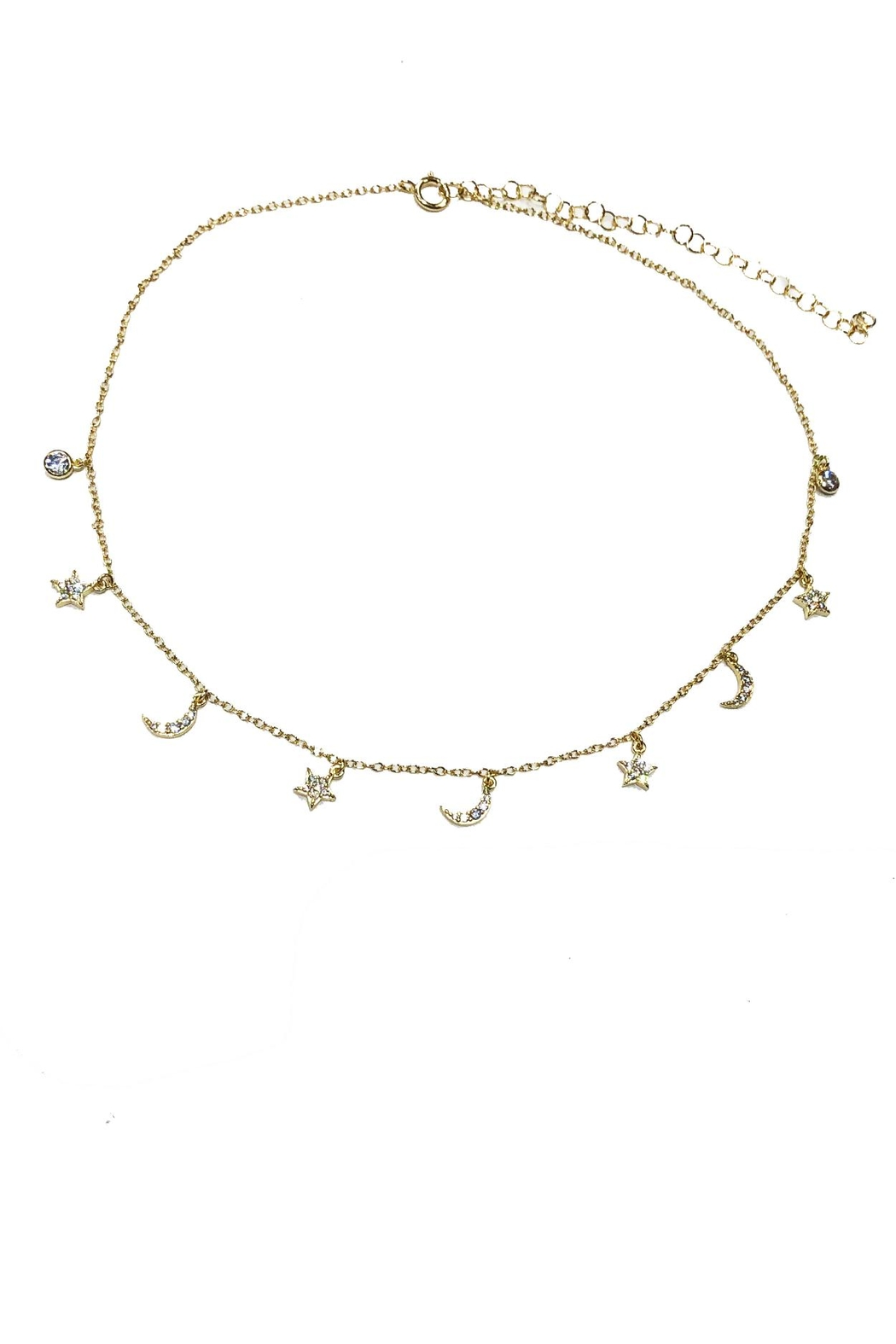 Carte Blanche Anklets Lets Accessorize Celestial Charm Choker From New York By Let S