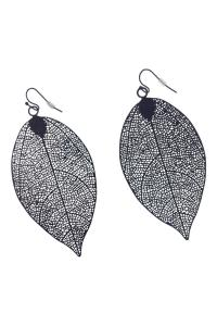GHome2 Filigree Leaf Earrings from Minneapolis by Go Home ...