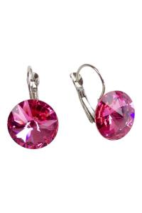 GHome2 Pink Swarovski Earrings from Minneapolis by Go Home ...