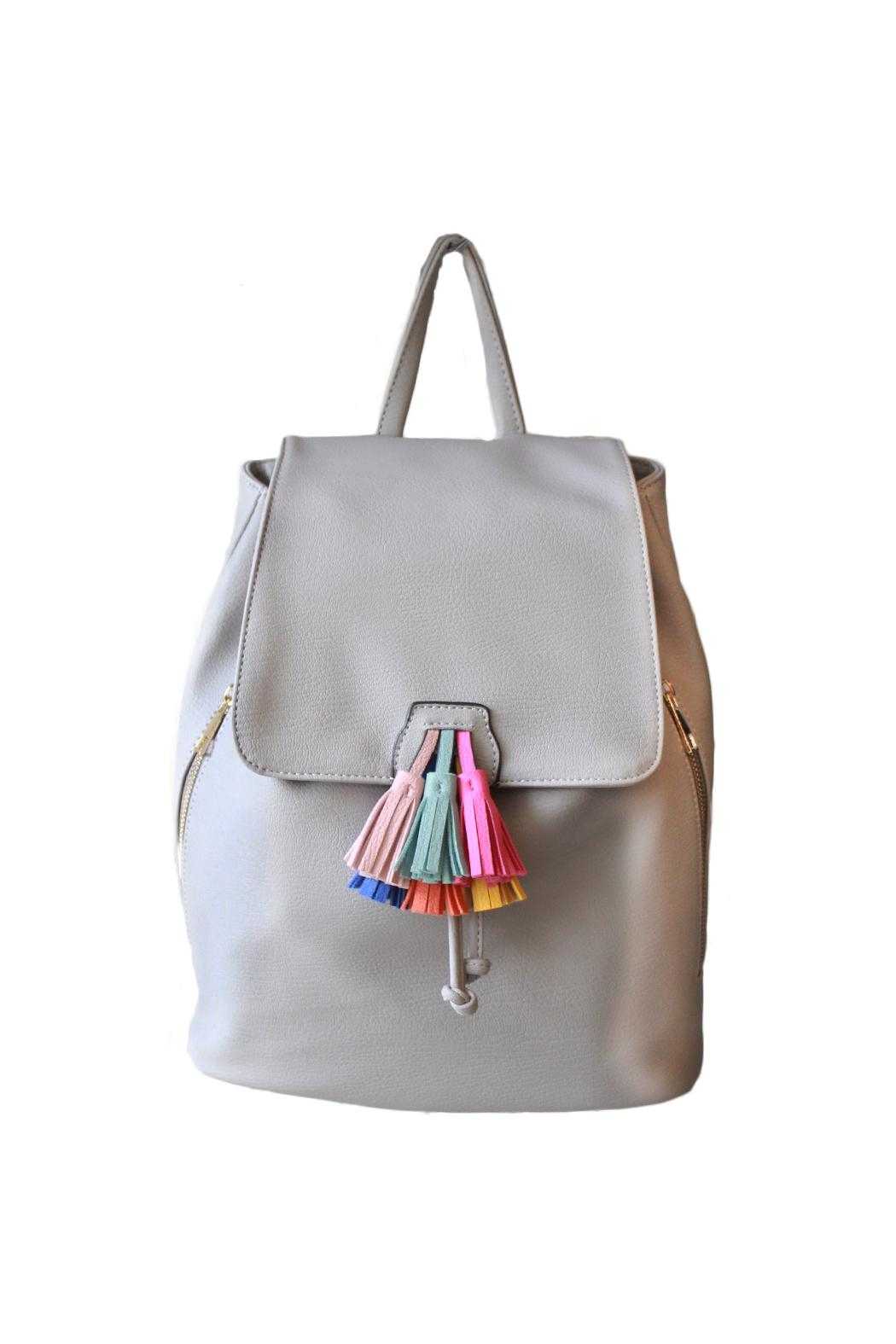 Carte Blanche Anklets Mellow World Flicka Backpack Grey From Vancouver By Carte Blanche