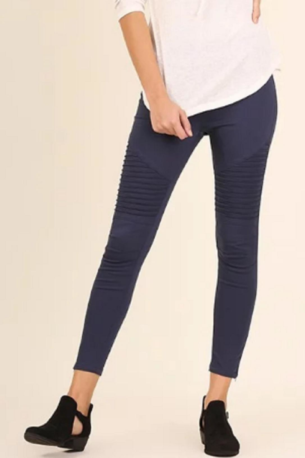 Shop Moto Salon Umgee Usa Moto Jeggings From Kansas By Bella Rose Boutique And